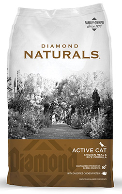 Active Cat Chicken Meal & Rice Formula dry cat food