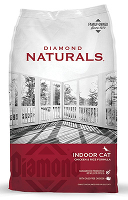 Indoor Cat Chicken & Rice Formula dry cat food
