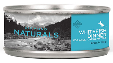 Whitefish Dinner For Adult Cats & Kittens wet cat food