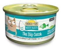 Witty Kitty The Big Catch Grain Free Flaked Cat Wet Food with Tuna & Sardines wet cat food