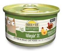 Witty Kitty Wingin' It Grain Free Shredded Cat Wet Food with Chicken & Turkey wet cat food