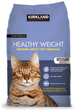 Kirkland Signature Healthy Weight Indoor Adult Cat Formula dry cat food