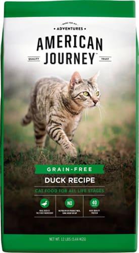 American Journey Duck Recipe Grain-Free Dry Cat Food