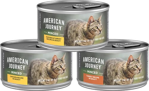American Journey Minced Poultry in Gravy Variety Pack Wet Cat Food