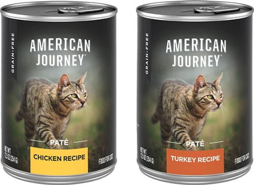 American Journey Pate Poultry Variety Pack Wet Cat Food