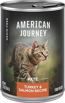 American Journey Pate Turkey & Salmon Recipe Wet Cat Food