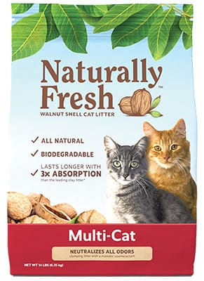 naturally fresh cat litter multi cat