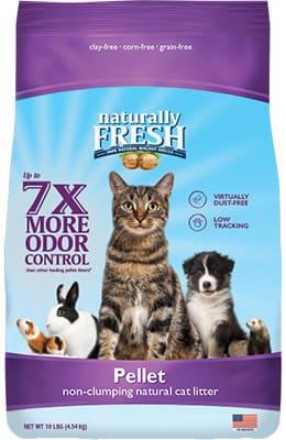 naturally fresh cat litter natural pellet