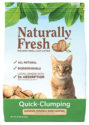 naturally fresh cat litter quick clumping
