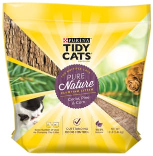 tidy cats pure nature cat litter review bag
