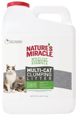Nature's Miracle Multi Cat Clumping Litter