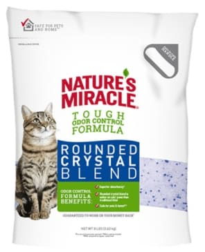 Nature's Miracle Rounded Crystal Blend Litter